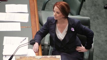 """Her authority has been in decline since she succeeded Kevin Rudd as prime minister in June 2010."""