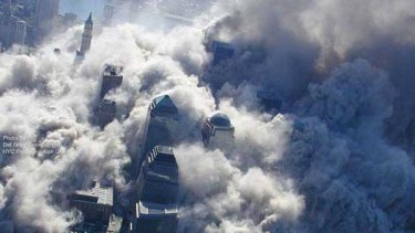 The attack on the World Trade Center.