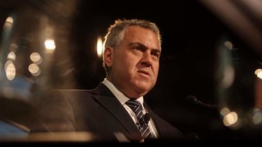 Treasurer Joe Hockey has threatened Queensland-style austerity measures if his budget is not passed.