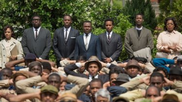 David Oyelowo as Martin Luther King jnr (centre): The characters are never mere outlines illuminating a textbook.