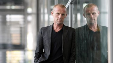 Jo Nesbo wrote the bulk of his first novel in a frenzy during a visit to Australia.