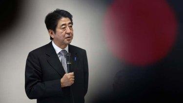 Shinzo Abe, Japan's new Prime Minister.