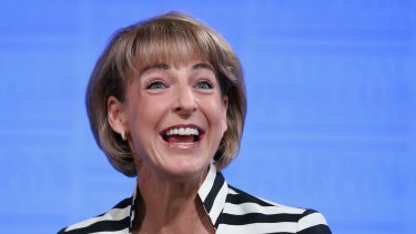 Employment Minister Michaelia Cash says the figures show the economy is resilient.