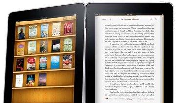 e-books on the Apple iPad.