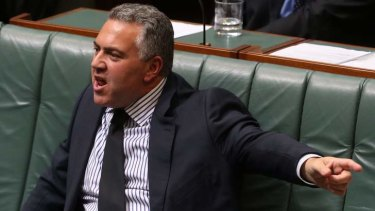 Set to release the MYEFO on Tuesday: Treasurer Joe Hockey.