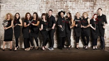 Meet all of MKR's characters – sorry, contestants.