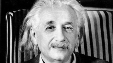 "Albert Einstein: His theory of relativity was ""the other thing that happened in 1915""."