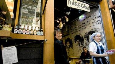 Nahji Chu (left) at one of her MissChu outlets at Bondi in Sydney.