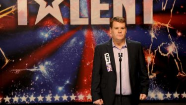James Corden as Paul Potts in <i>One Chance</i>.