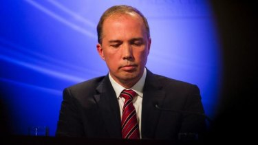 Health Minister Peter Dutton says the government has yet to make a decision on sending Australian health workers to West Africa.