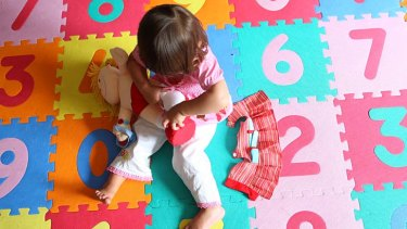 Alarm at fee rise: The hourly cost of childcare has reportedly increased by 50 per cent since 2007.