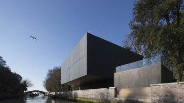The new Australian pavilion at the Venice Biennale.