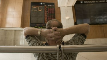 About $55b was wiped off the ASX on Tuesday.