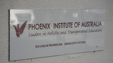 Australian Careers Network, the parent of Phoenix Institute, went into administration last year, still claiming $253 million from the Education Department.