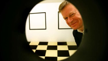 Outgoing boss of the Australian Centre for the Moving Image, Tony Sweeney.
