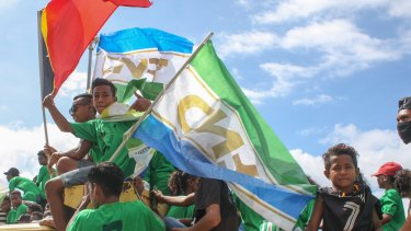 Young people campaign ahead of East Timor's parliamentary election.