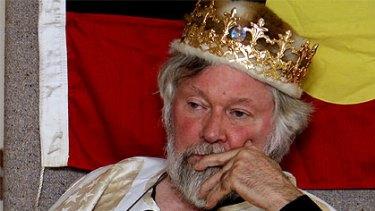 Self-proclaimed Prince Paul Delprat of the Principality of Wy.