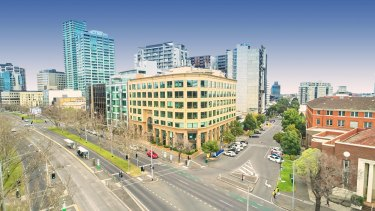 St Kilda Road is now in the same yield orbit as CBD office markets in Sydney and Melbourne.