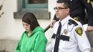 Admits to killing LaFerrara: Miranda Barbour comes clean over her role in killing of 42-year-old. She's seen here after her preliminary hearing on December 2013.