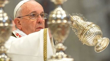 "Compassionate: Pope Francis reportedly told the woman: ""There are some priests who are more papist than the Pope."""