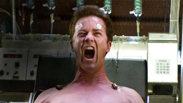 Edward Norton as Bruce Banner in The Incredible Hulk.