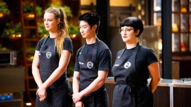 Billie, Reynold and Jessica face a showdown for final two places in the MasterChef semi final.