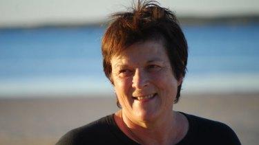 Jane Hodson at Coffin Bay.