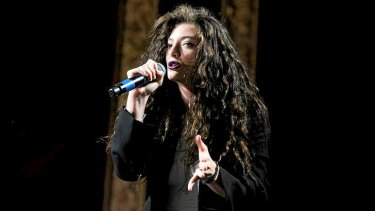 Too sick to continue tour to Australia ... Singer Lorde last performed at the 2014 Coachella Valley Music & Arts Festival.