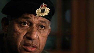 Fiji's Military Commander Frank Bainimarama.