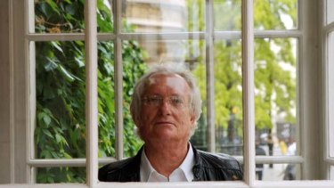 Australian crime writer Peter Temple.