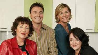 Originals ... Angela Catterns, Tony Squires, Rebecca Wilson and Wendy Harmer.