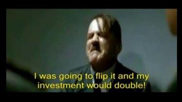 Popular Hitler 'Downfall' parody with fake subtitles.