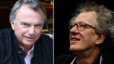 Sam Neill was due to come, and Geoffrey Rush was to present Weinstein with a special award at a gala dinner.
