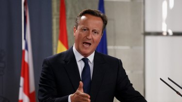 British Prime Minister David Cameron plans to resettle up to 20,000 Syrian refugees.