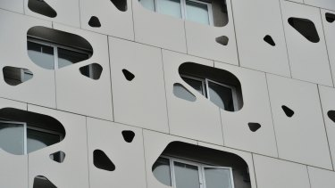 The Exo Apartments in Docklands.