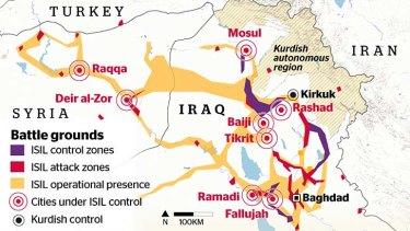 Iraq battlegrounds.