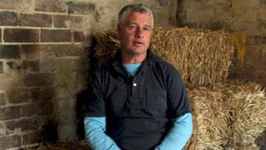 Guidance needed ... Kevin Moses, a former champion jockey turned horse trainer.