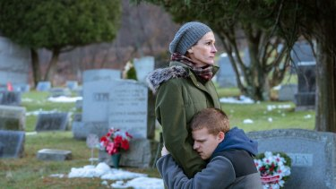 Julia Roberts and Lucas Hedges play a mother and son struggling with his addiction in Ben Is Back.