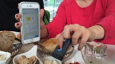 SCiO health app smartphones WFSMARTPHONE