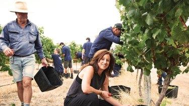 Virginia Willcock of Vasse Felix for Women in Wine awards column by Max Allen.