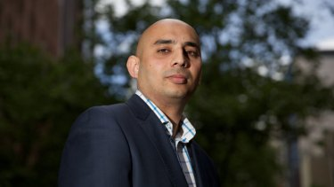 Azeezur Rahaman, a candidate for the upcoming Melbourne City Council elections.