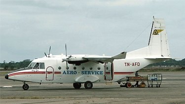 The wreckage of the plane chartered by WA mining company Sundance Resources has been found in Africa.