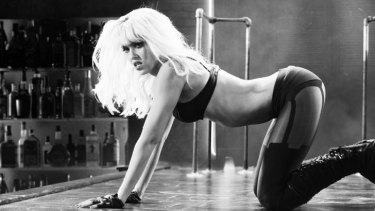 """Night stalker: Alba as a """"crazy, depressed, betrayed ... alcoholic"""" in Sin City 2: A Dame to Kill For."""