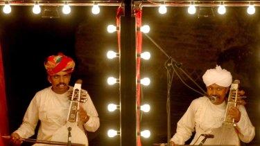 Manganiyar Seduction … a rare Australian stage appearance by Asian artists.