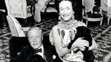 Odd couple ... the Duke and Duchess of Windsor.