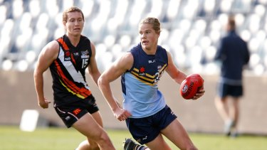 Harrison Himmelberg in action at the under-18 championships