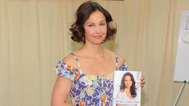 All things bitter and sweet ... Ashley Judd promotes her book at Barnes & Noble in New York.