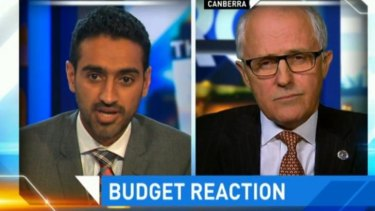 """Where's the money?"": Waleed Aly faced off with Malcolm Turnbull."