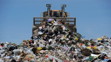 Victorians produced 12.8 million tonnes of waste in 2015-16.