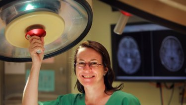 Head of neurosurgery at Melbourne's Royal Children's Hospital, Wirginia Maixner.